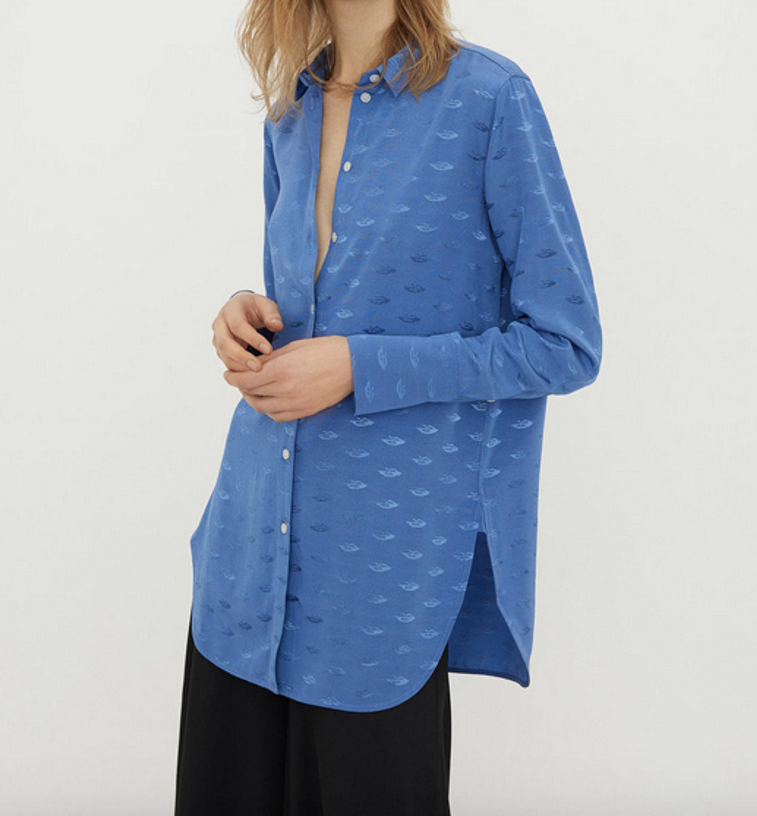 eeafe848eba1 ... By Malene Birger - Shirt - SHI1004S91 - Vintage Blue ...