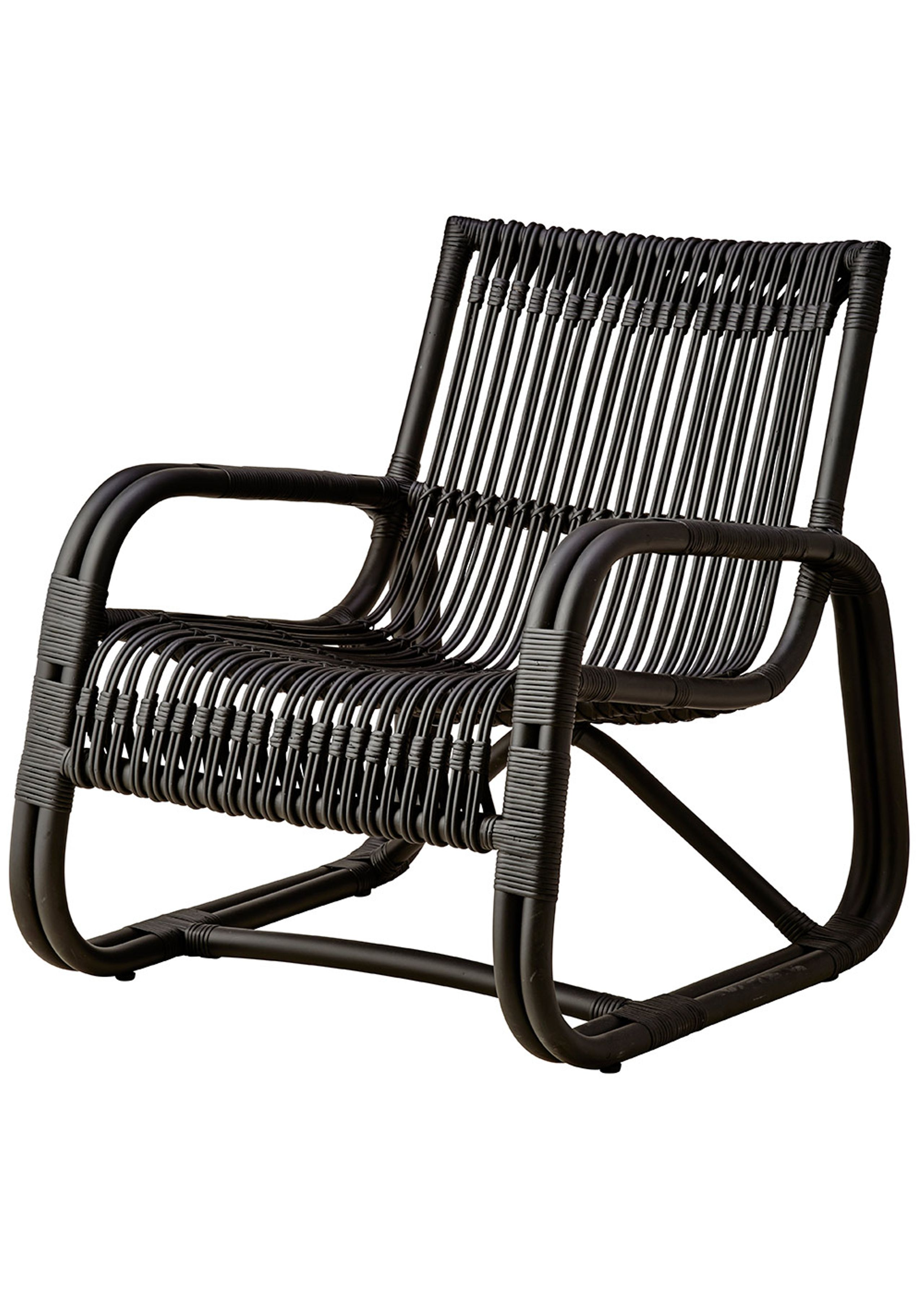 Picture of: Curve Lounge Chair Indoor Armchair Cane Line