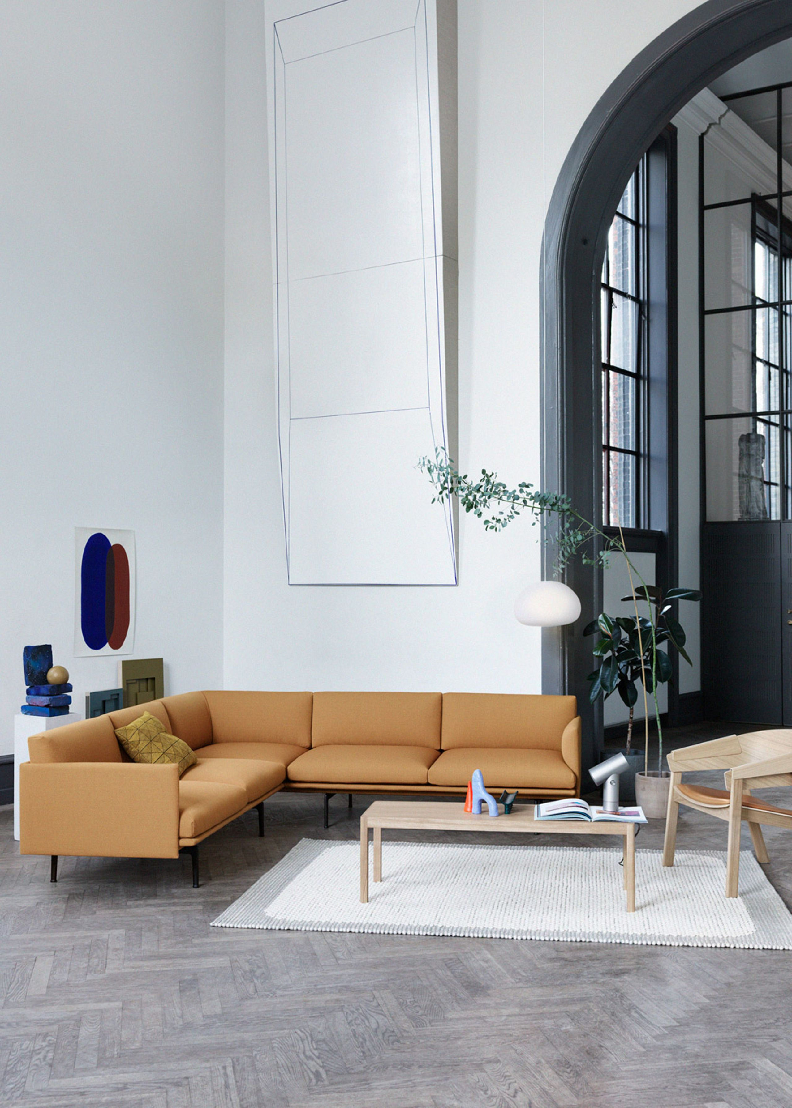 Cover Lounge Chair Udstillingsmodel L 230 Nestol Muuto