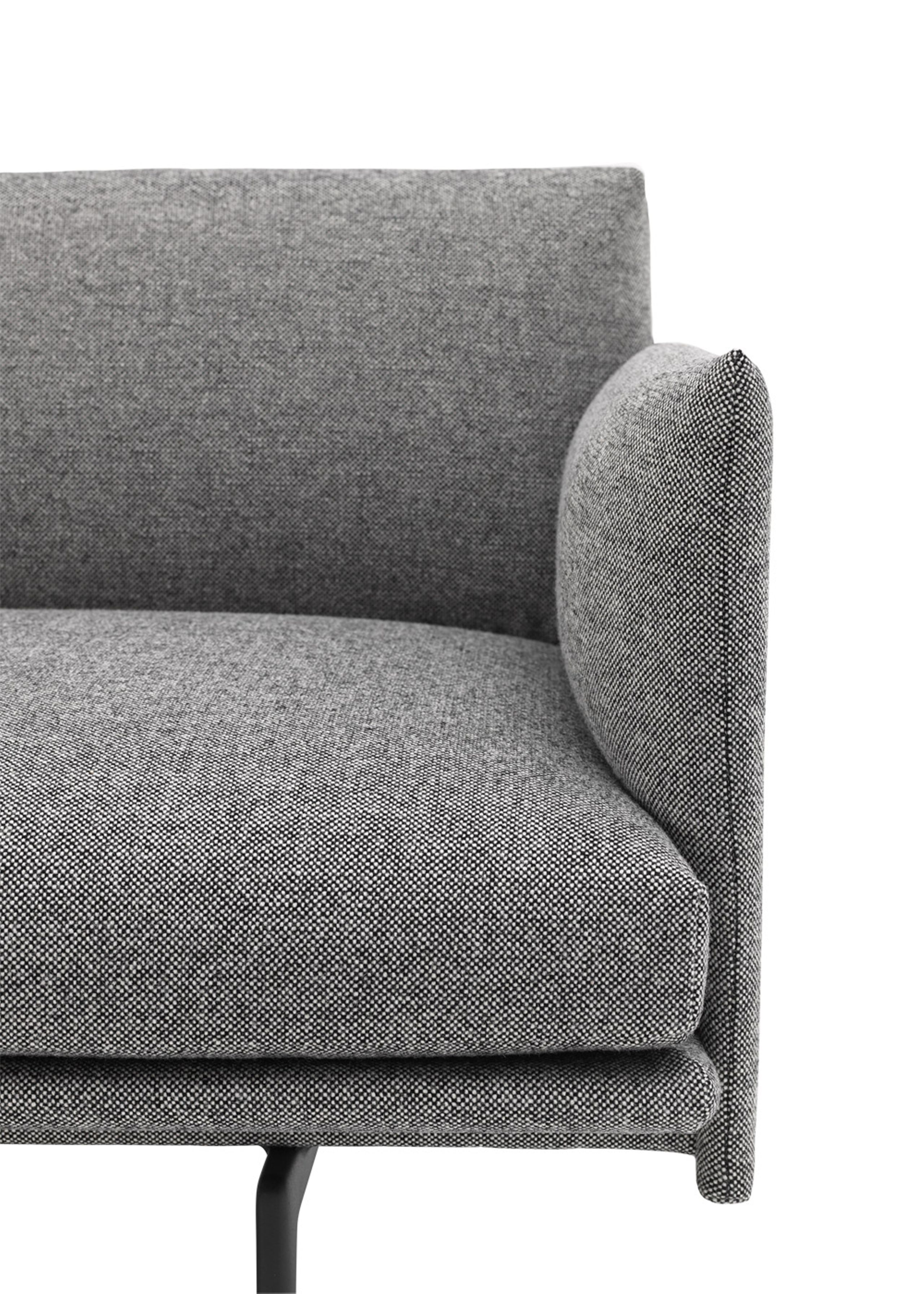 Outline Sofa 3 1 2 Seater Couch Muuto