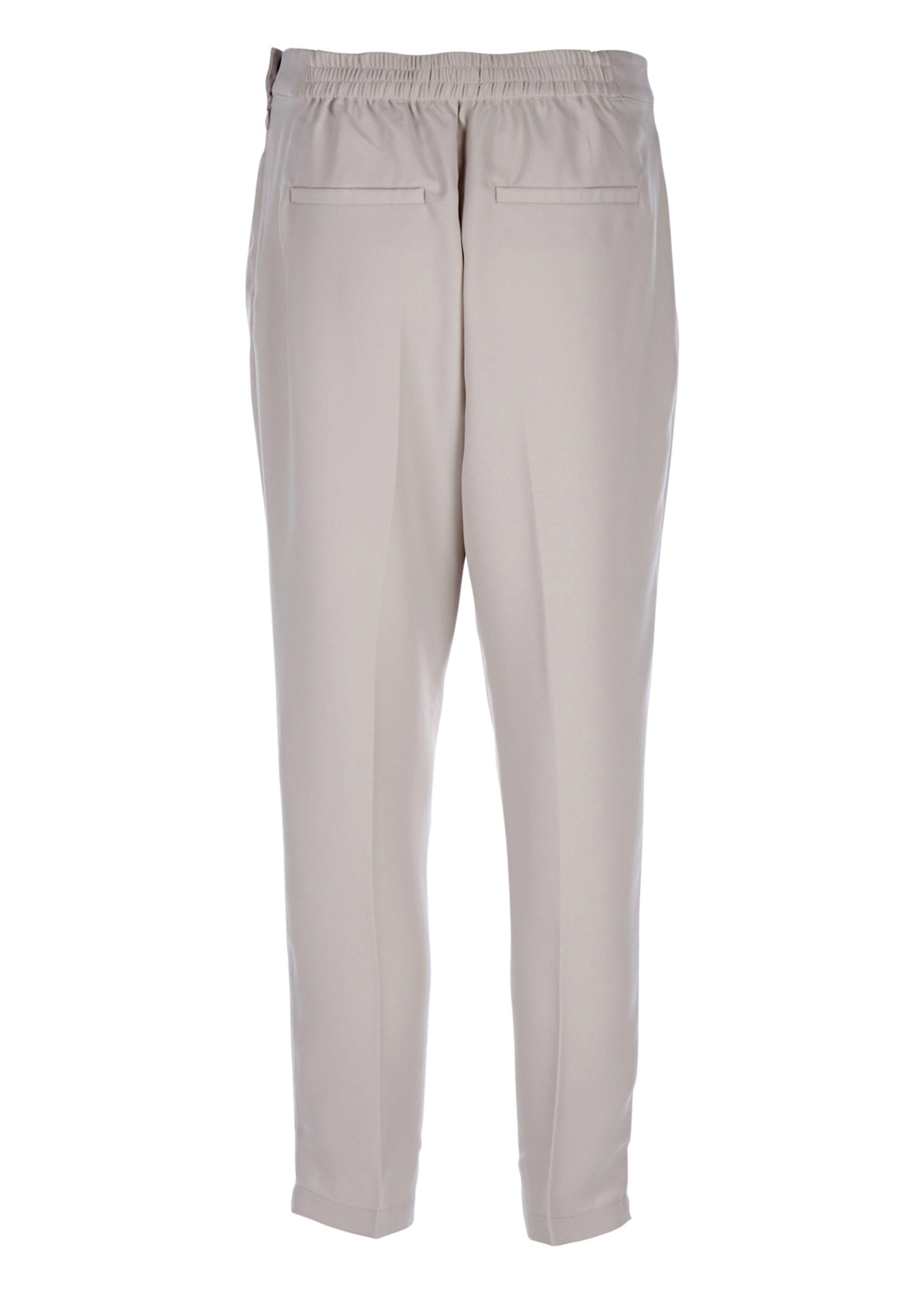 57e49200 ... Selected Femme - Pants - Steffi Cropped Pants - Light Grey ...