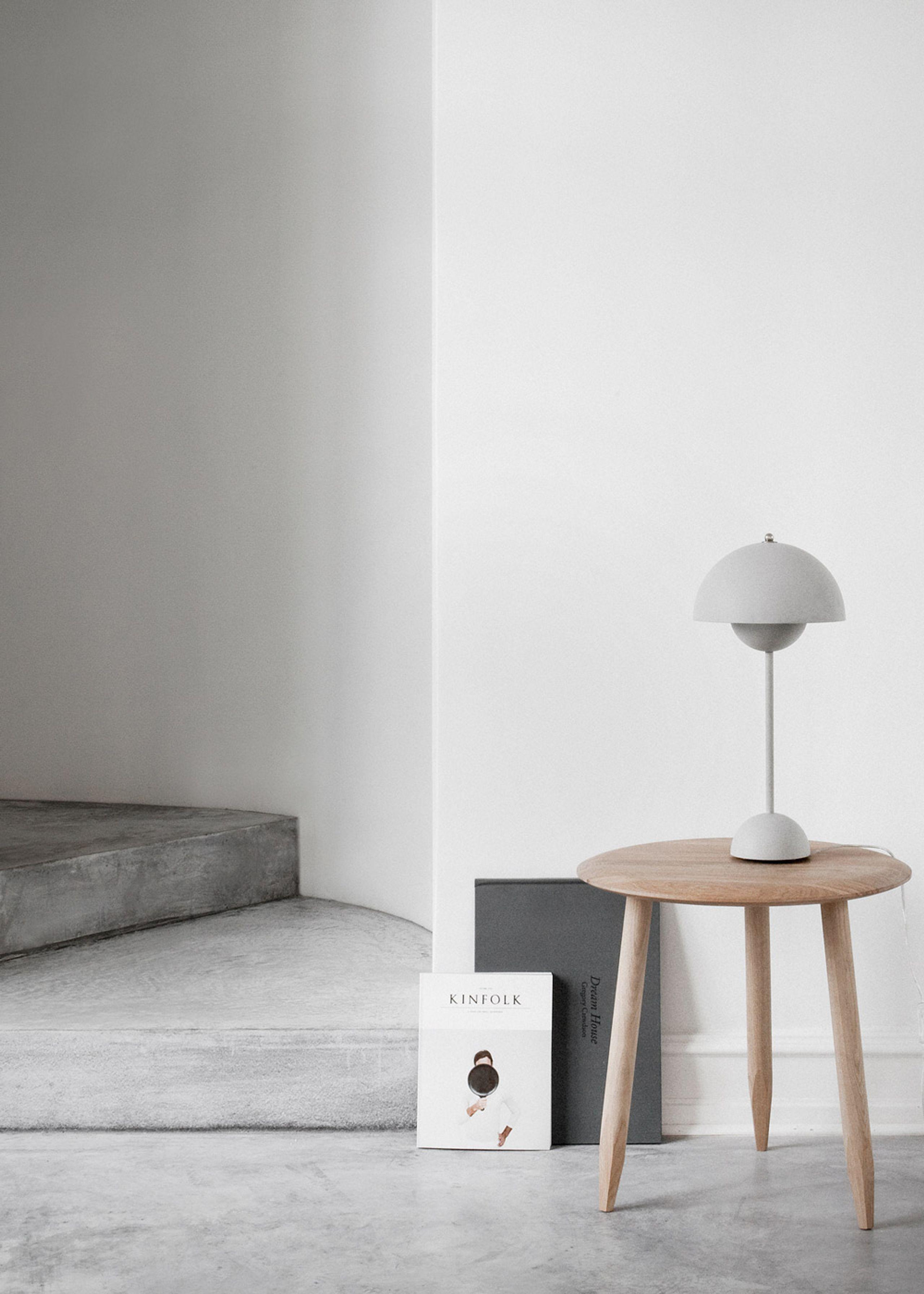flowerpot table lamp vp3 af verner panton bordlampe. Black Bedroom Furniture Sets. Home Design Ideas