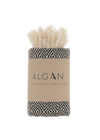 ALGAN - Towel - Elmas Guest towel - Black