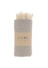ALGAN - Towel - Elmas Hamam towel - Grey
