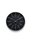 Arne Jacobsen - Watch - Bankers Watches - Wall Clock Black Ø29