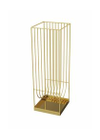 AYTM - Stool - CURVA Umbrella Stand - Gold