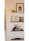 BATJUMA Furniture - Shelf - Wall Shelf - White Short