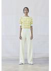 Baum und Pferdgarten - T-shirt - Chloe - Creamy Lemon Check
