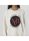 By Malene Birger - Sweatshirt - Shanni Sweatshirt - Light Grey Melange
