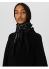 By Malene Birger - Scarf - Cornelis - Charcoal/Cream Signature
