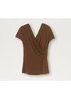 By Malene Birger - Top - TSH5014S91 - Terracotta
