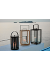 Cane-line - Lantern - Lighthouse Outdoor Lantern - Teak Small