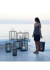 Cane-line - Lantern - Lighthouse Outdoor Lantern - Lava Grey Small