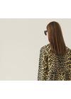 Ganni - Kjole - Printed Cotton F3408 - Minion Yellow