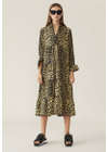 Ganni - Dress - Printed Cotton F3408 - Minion Yellow