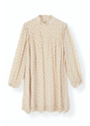 Ganni - Dress - Printed Georgette Dress F3172 - Tapioca