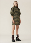 Ganni - Dress - Seersucker Check F3224 - Aloe