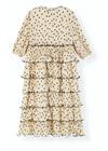 Ganni - Dress - Pleated Georgette F3169 - Tapioca