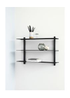 Gejst - Shelf - NIVO - A - Black Ash/Black