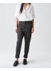 HOPE - Pants - News Trouser Wool Blend - Yellow Stripe
