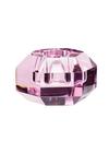 Hübsch - Lysestage - Lysestage Glas - Pink