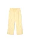JUNA - Pants - Bæk&Bølge Lala Pants - Yellow/White