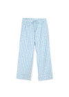 JUNA - Pants - Bæk&Bølge Lala Pants - Light blue/White