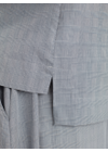Libertine Libertine - Blouse - Pay Blouse - Black/White Check/Greyish
