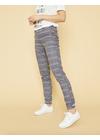Mos Mosh - Pants - Abbey Alisoin Zip Pant - Indigo Check