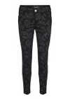 Mos Mosh - Pants - Victoria Glam Flower Pant - Black