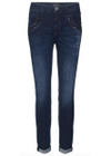Mos Mosh - Jeans - Naomi Shine Jeans - Dark Blue Denim