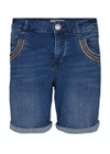 Mos Mosh - Shorts - Naomi Muscat Denim Shorts - Blue Denim