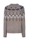 Mos Mosh - Stickat - Mira Knit - Taupe Grey Melange