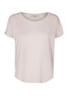 Mos Mosh - T-shirt - Kay Tee with Lurex - Pale Rose