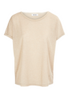 Mos Mosh - T-shirt - Kay Tee with Lurex - Gold