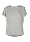 Mos Mosh - T-shirt - Kay Tee with Lurex - Silver