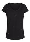 Mos Mosh - T-shirt - Magaret Tee - Black