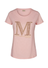Mos Mosh - T-shirt - Riva Glam Tee - Soft Rose