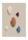 Muuto - Knager - The Dots - Ekstra Small - Sort