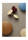 Muuto - Haken - The Dots - Extra Small - Oak