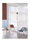 Muuto - Stol - Fiber Lounge Chair - Wood Base - Divina 154 - Eg