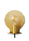 Normann Copenhagen - Væglampe - Plate Væglampe - Guld