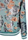 Paul & Joe Sister - Jacket - Hibiscus Bomber - Green Pattern