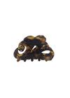 Plissé Copenhagen - Hair Clip - Fie - Dark Turtle