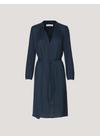 Samsøe & Samsøe - Dress - Elva LS Dress - Dark Sapphire