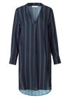 Samsøe & Samsøe - Dress - Hamill V-neck Dress - Dot Stripe Navy