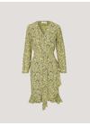Samsøe & Samsøe - Dress - Limon Wrap LS Dress - Yellow Buttercup