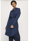 Samsøe & Samsøe - Dress - Rissa Shirt Dress - Dark Sapphire