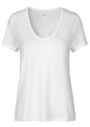 Samsøe & Samsøe - T-shirt - Papel Basic Tee - Clear Cream
