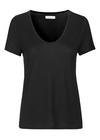 Samsøe & Samsøe - T-shirt - Papel Basic Tee - Black